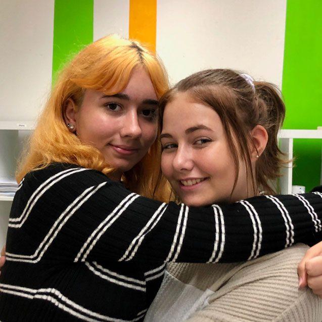 Julia und Fabiola HLT