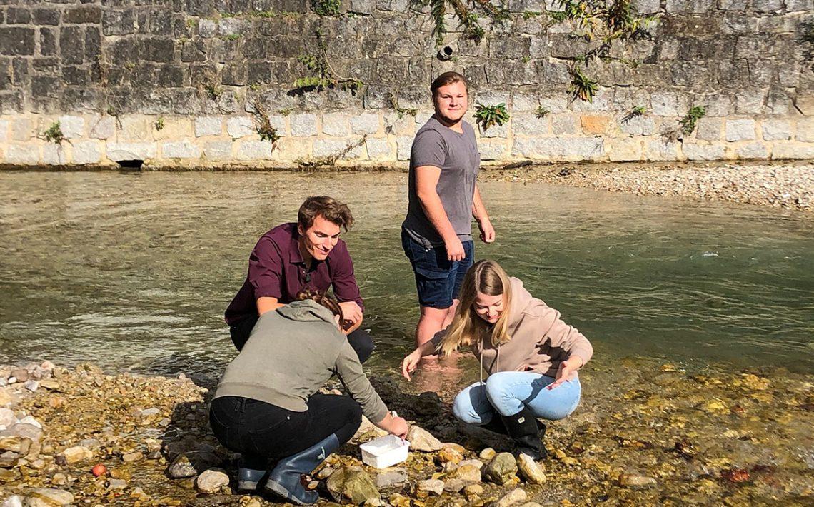 BBS Weyer Gewässeranalyse
