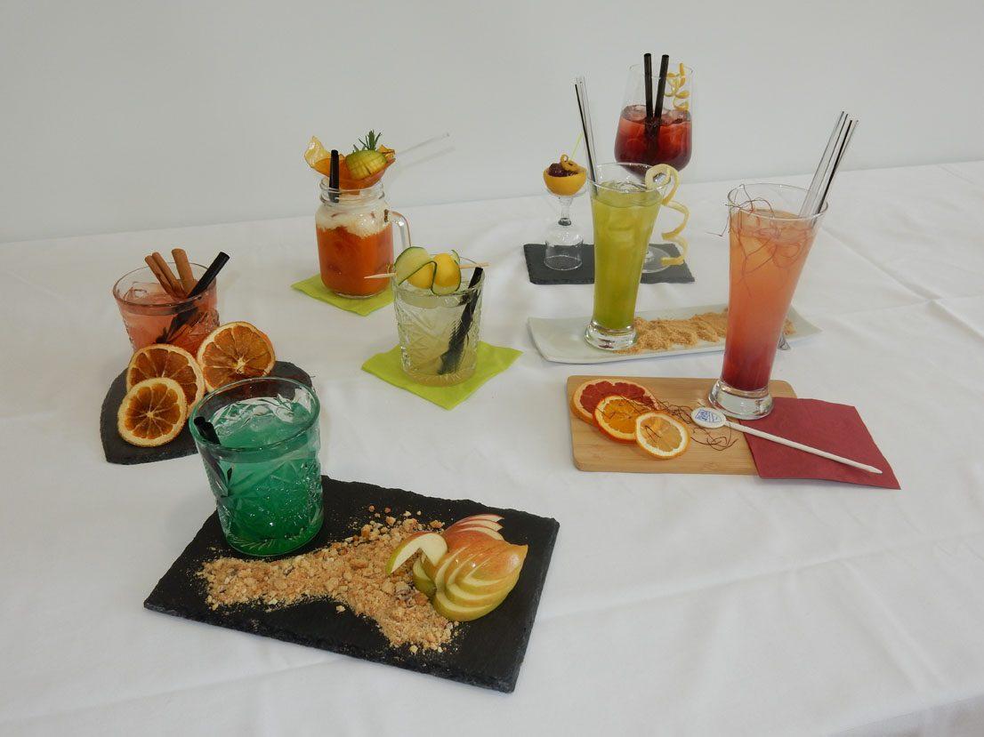 selbst kreierte Cocktails